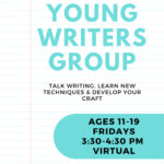 Young Writers Group @ Virtual