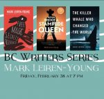 2020 BC Writers Series presents Mark Leiren-Young @ Powell River Public Library