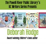 BC Writers Series presents Deborah Hodge @ The Art Centre