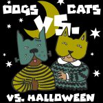 Cats vs. Dogs vs. Halloween: Activity Package and Zoom Meet-up