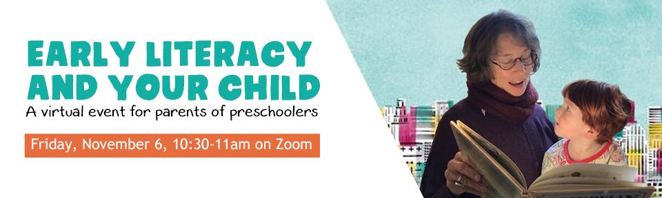 EarlyLiteracyWebBannerOctober2020